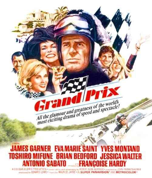 GRAND PRIX BY GARNER,JAMES (Blu-Ray)